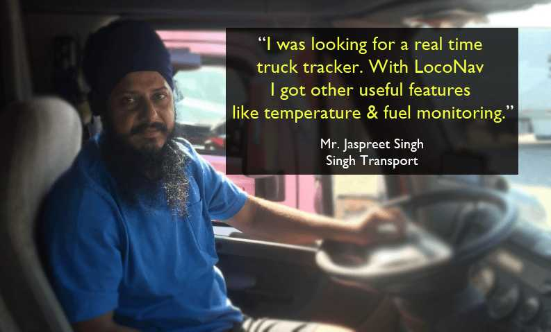 GPS Vehicle Tracking System for Trucks, Buses, & Cars in India