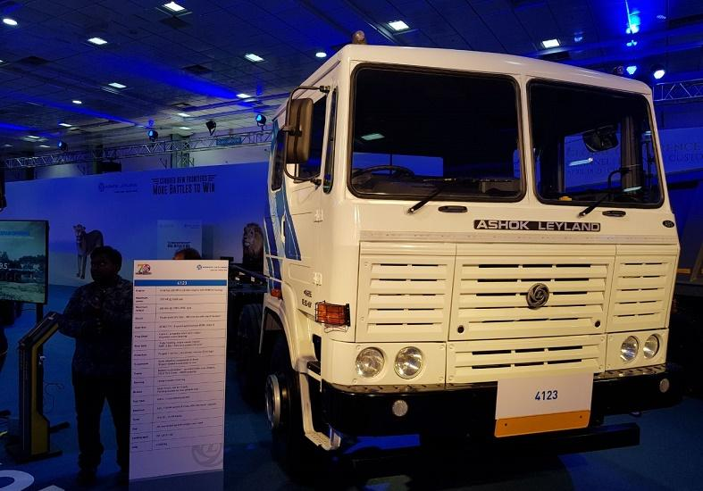 ashok leyland 4123 launched