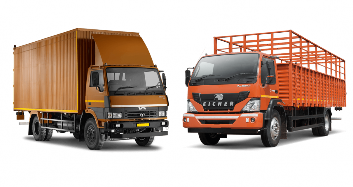 Compare: Tata LPT 1109 vs  Eicher Pro 1110XP | LocoNav