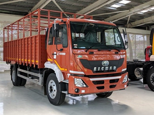 eicher trucks price